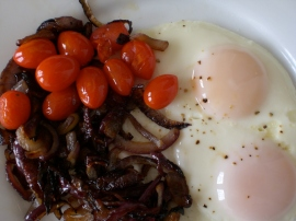 Tomatoes, Onions and Eggs