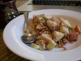 Wheat Berry Breakfast